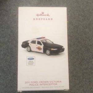 Hallmark keepsake ornament - police interceptor